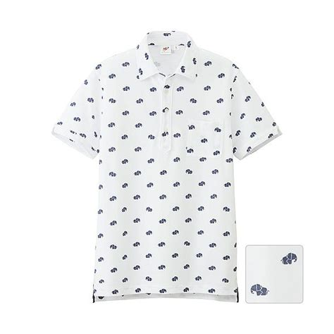 Origami Polo Shirt - uniqlo x michael bastian mb washed sleeve polo