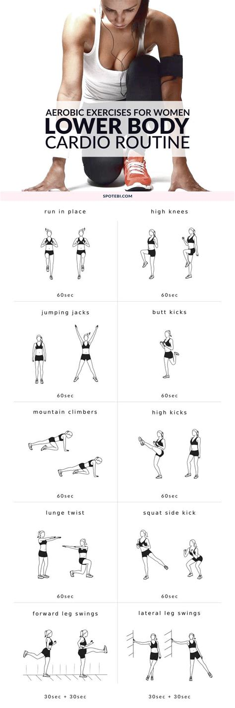 Lower Workout At Home With At Home No Equipment Lower Warm Up Exercises Lower