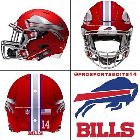 football helmet design nfl buffalo bills red concept design nfl football helmet