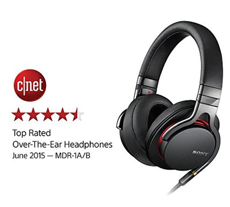 Sony Premium Headset Mh1c sony mdr1a premium hi res stereo headphones black import it all