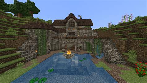 house   pond screenshots show  creation