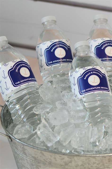 printable vinyl for water bottles 23 best images about wedding water bottle labels on