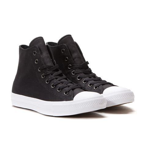 Conversehigh Total Black converse chuck ii hi black white 150143c
