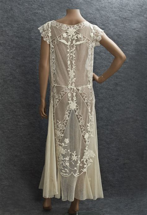 1920s Fashion At Vintage Textile by 1920s Clothing At Vintage Textile 2784 Lace Tea Dress