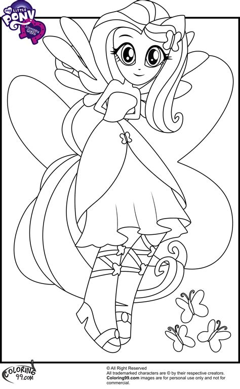 My Little Pony Equestria Girls Coloring Pages Minister My Pony Equestria Coloring