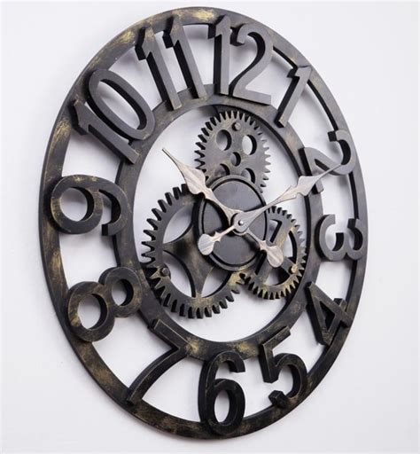 large contemporary wall clocks large decorative wall