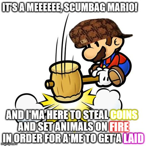 Meme Coins - mario hammer smash meme imgflip