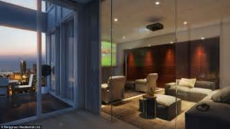 Nyc Private Dining Rooms Tel Aviv S Luxurious Meier On Rothschild Tower Penthouse