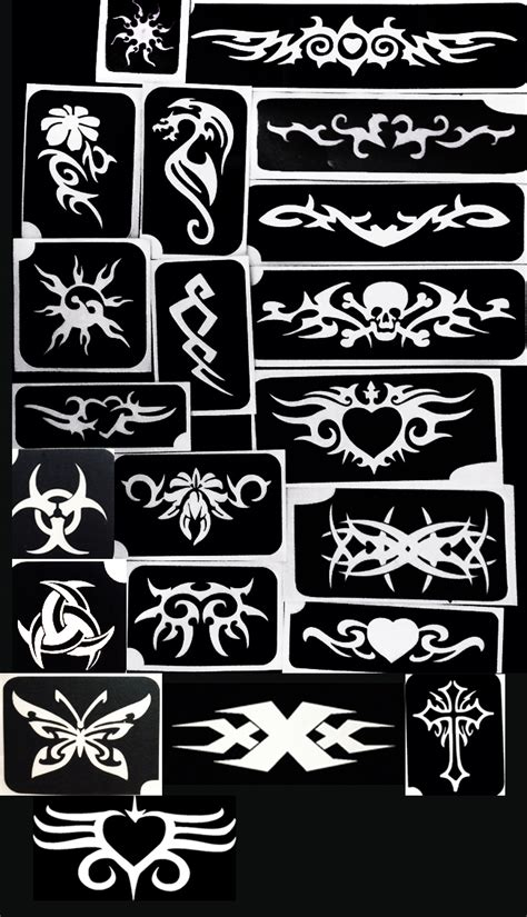 tattoo stencil paper brisbane tribal stencils