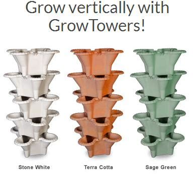 Garden Tower Vertical Container - vertical garden hydroponics farming