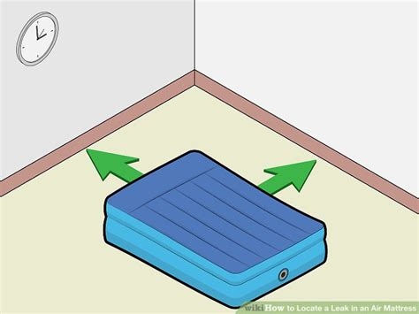 the best ways to locate a leak in an air mattress wikihow