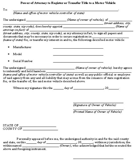florida boat registration military 17 best images about power of attorney on pinterest