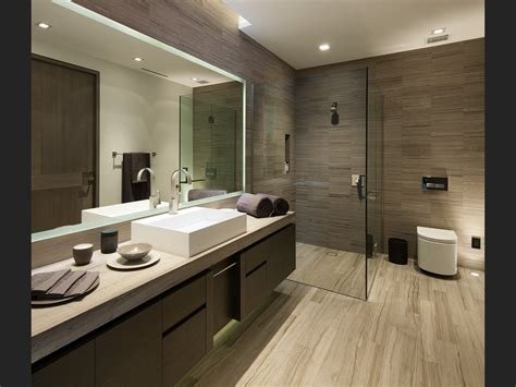 Contemporary Bathroom Design by Luxurious Modern Bathroom Interior Design Ideas