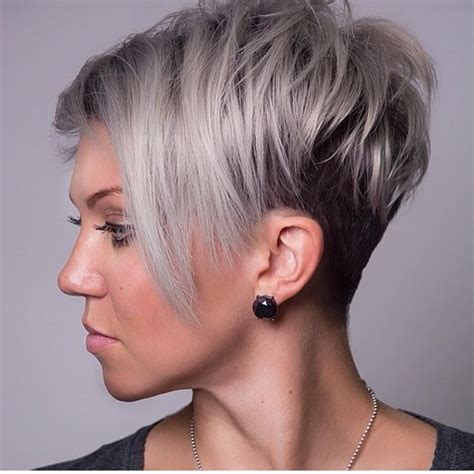 cool  unique short hairstyles   faces