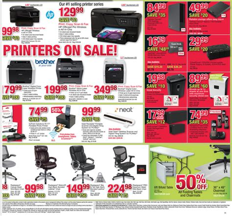 Post Office Open Black Friday by Office Depot Black Friday Ad Black Friday Ads 2016