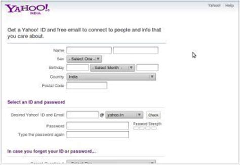 Search Yahoo Address How Do I Create A Yahoo Email Address