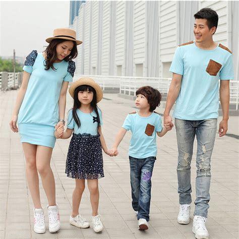 Kaos Set 07 kaos untuk keluarga yang modis