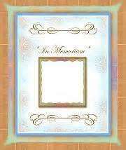 in memoriam template family reunion booklet templates