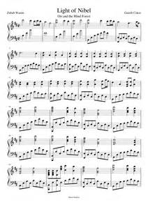 blind side soundtrack song list light of nibel ori and the blind forest musescore