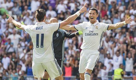 Cristiano Ronaldo Crib by Ronaldo And Bale Agree New Real Madrid Deals Naija