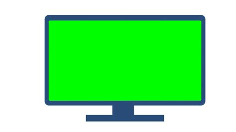green tv amazing cartoon television in green screen animation free