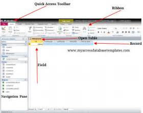 Interior Decoration Tips by Components Of Ms Access Database Window Microsoft Access