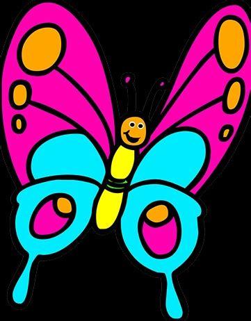 gambar kupu kupu kartun terbaru gambarcoloring