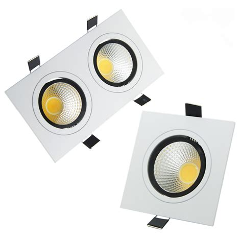 led recessed light bulbs dimmable led recessed ceiling downlight square dimmable led led
