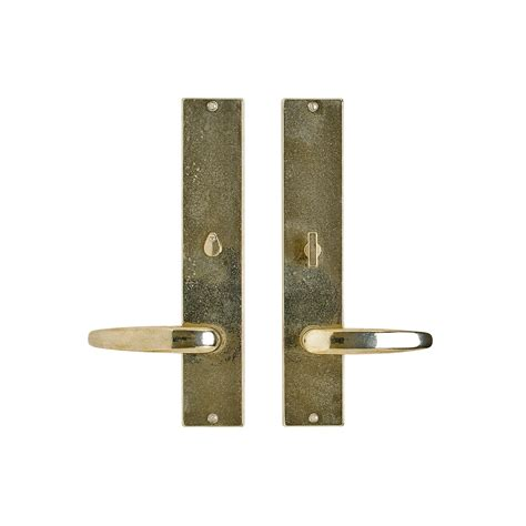 Interior Door Hardware Sets Metro Privacy Set 2 1 2 Quot X 13 Quot Privacy Mortise Bolt Latch E259 Rocky Mountain Hardware