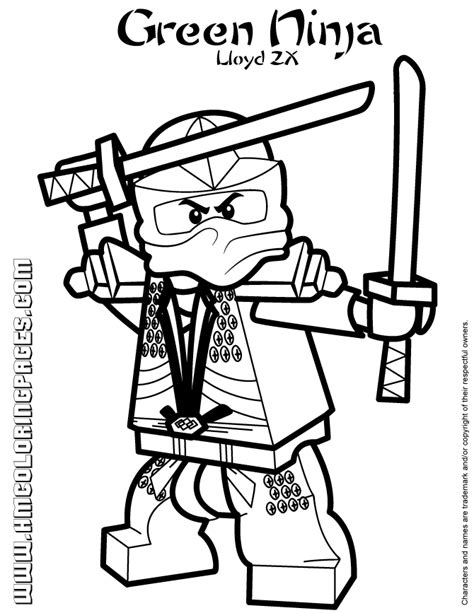 ninjago coloring pages zane zx green ninjago lloyd zx coloring page h m coloring pages