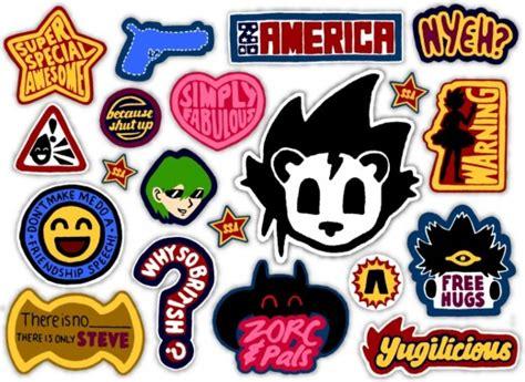 Tøp Stickers