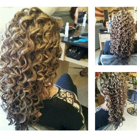 curly perm vs spiral perm spiral curls hair nails beauty pinterest hair