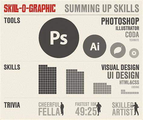graphics design skills my skills infographic resume ideas infographic resume