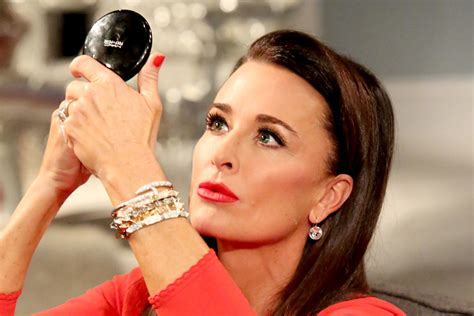 the beverly housewives lipstick color kyle richards shows us what s inside her makeup bag lookbook