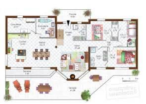 maison en bois moderne d 233 du plan de en bois