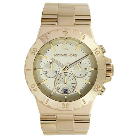 michael kors gold plated mens watches