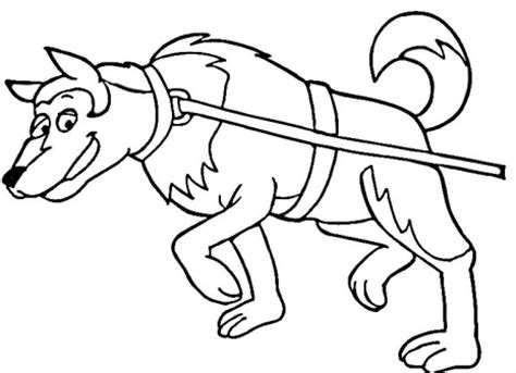 sled dog coloring pages to print coloring pages