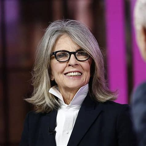 anti aging haircuts gray hair haircuts and diane keaton on pinterest