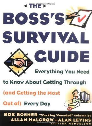 the tough s guide to survival books the s survival guide by bob rosner reviews