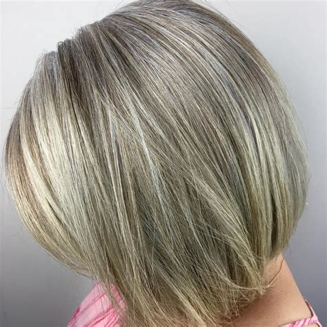 ash blond with grey highlights 60 gorgeous hairstyles for gray hair