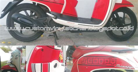 Decal Cb150r Superman stickrenz honda scoopy f1 custom stripe text part 3