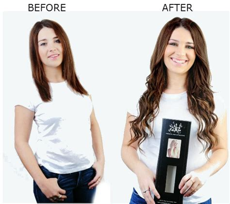 20 hair extensions before and after before and after clip in hair extensions gallery short to