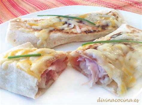 divina cocina recetas flautas de jam 243 n y queso divina cocina recetas
