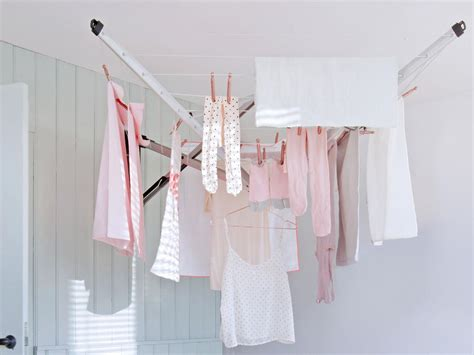 drying clothes in bedroom useful wall mounted drying rack homesfeed