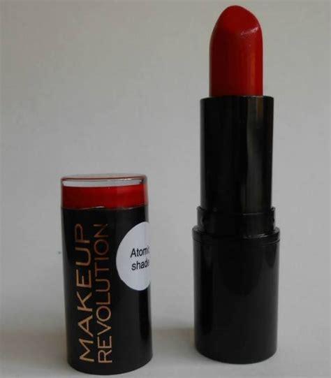 Original 100 Makeup Revolution Iconic Matte Lipstick makeup revolution atomic ruby amazing lipstick review