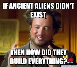 Ancient Alien Memes - generate a meme using ancient aliens where teacher think