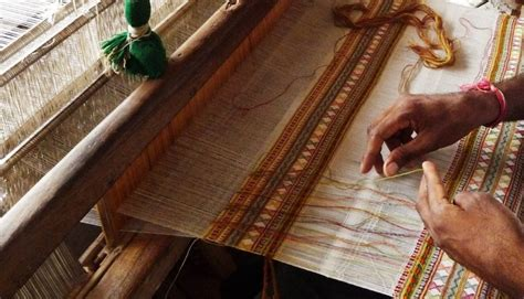 Home Plans With Courtyard Bhujodi Carpet Weaving Kutch India Gaatha ग थ