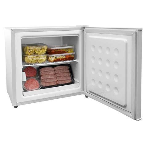 mini table top freezer cookology mfz32wh table top mini freezer in white a