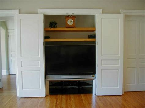 Closet Tv by Tv In Closet Ideas For New Crib