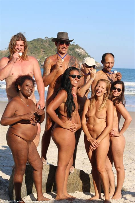 Rio Plays Host To The Naked Olympics In Honour Of Ancient Greece Daily Mail Online